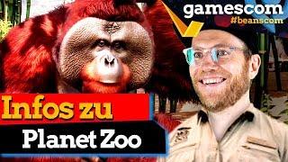 Planet Zoo: Eine Vorschau auf den Tier-Baukasten | gamescom 2019