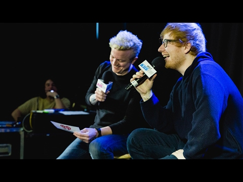 Ed Sheeran KIIS Lounge Interview With JoJo