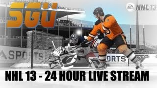 NHL 13: 24 Hour Live Stream - Part 2
