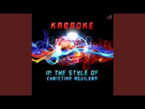 Show Me How You Burlesque (Karaoke Version)