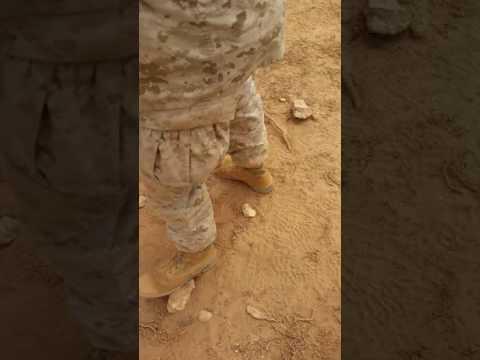 Marine sniper in Morocco