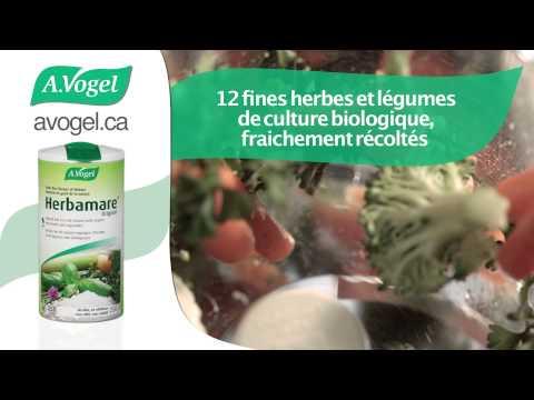 A.Vogel Herbamare® Original: sel de mer aromatique biologique
