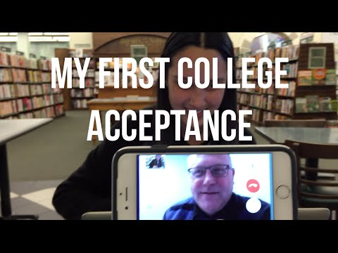 COLLEGE ADMISSIONS PROCESS | Vlog #17: I got into San Jose State University