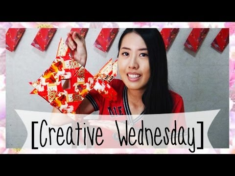 HOW TO MAKE A FISH RED PACKET LANTERN! [CREATIVE WEDNESDAY]