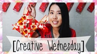 Repeat youtube video HOW TO MAKE A FISH RED PACKET LANTERN! [CREATIVE WEDNESDAY]