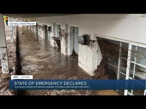 State of Emergency Declared: Cedar City Utah Turned Into A River