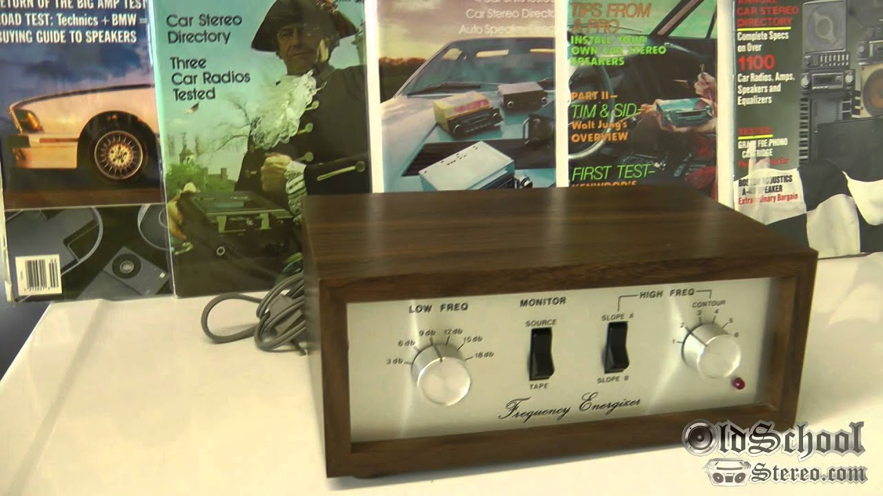 Vintage Fosgate Frequency Energizer Model 201 Overview