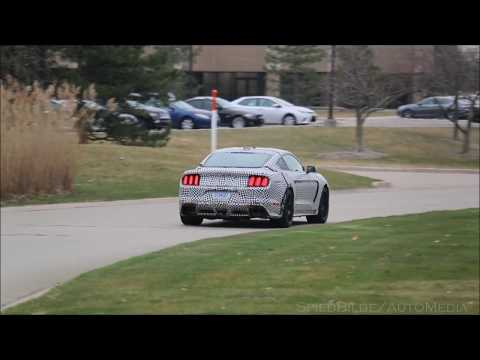 Ford Mustang Shelby GT spied revving its supercharged V