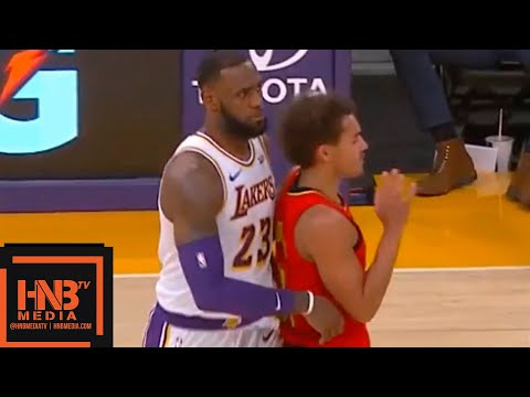Los Angeles Lakers vs Atlanta Hawks 1st Half Highlights | 11.11.2018, NBA Season