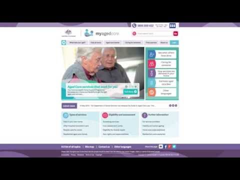 My Aged Care New Webform for Health Professionals