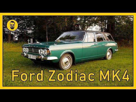Mats Ovanliga Ford Zodiac MK4