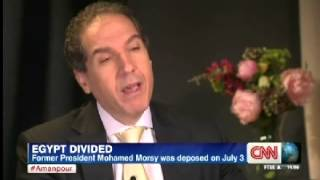Egypt: Mostafa Hegazy with Christiane Amanpour