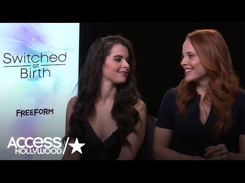 Vanessa Marano & Katie Leclerc Tease Final Season of 'Switched At Birth'  Access Hollywood