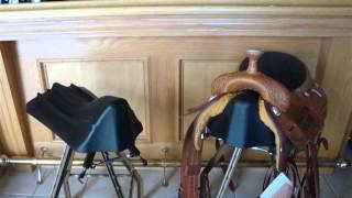 How To : Make A Bar Stool Out Of Old Horse Saddle