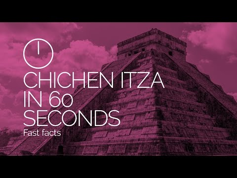 Chichen Itza, Mexico in 60 seconds