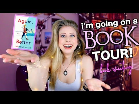 THERE'S A BOOK TOUR!? | BOOK WRITING
