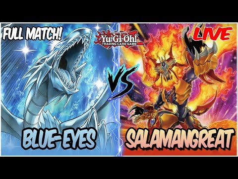 YuGiOh Live Duel: Blue Eyes Guardragon Vs Salamangreat |BLUE EYES CAN STILL BE A FORCE IN META??|