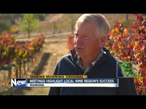 Wine experts show respect for San Diego wine region