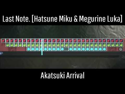 Last Note. Feat. Hatsune Miku & Megurine Luka - Akatsuki Arrival [LBP Sequencer Music]