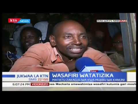 Wasafiri kote nchini watatizika magari mengi ya umma yaondolewa barabarani
