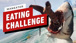 Maneater - Gruesome Eating Challenge Gameplay