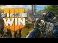 Blackout Solo vs. Squads WIN!