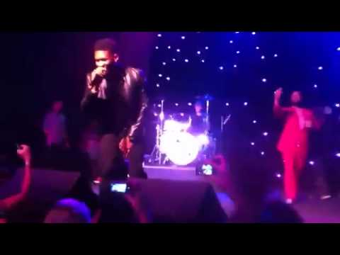 Usher Singing & Justin Bieber Playing the Drums at Scooter Braun's 30th Birthday Part