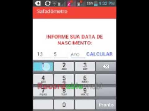 SAFADÔMETRO App legal para celular