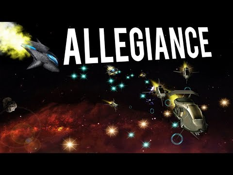NATURAL SELECTION IN SPACE! FREE COMBAT SIM GAME! - ALLEGIANCE Gameplay Lets Play