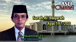 Qori Terbaik Hj Muammar Za Surah Al Baqarah Ayat 197 202