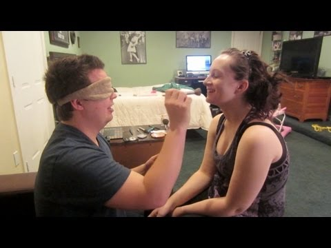 BLINDFOLDED MAKEUP CHALLENGE - March 1, 2013 - dailyBUMPS