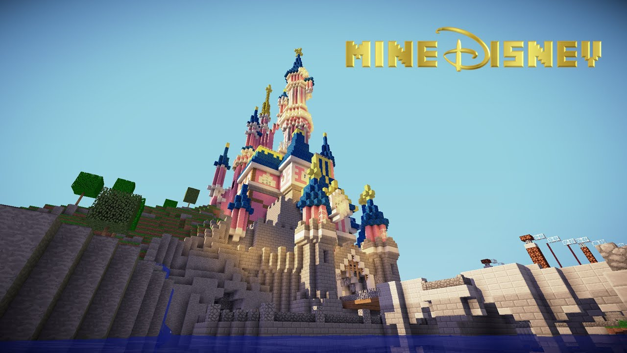 Minecraft Disneyland Paris