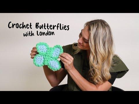 Crochet a Butterfly with London Kaye