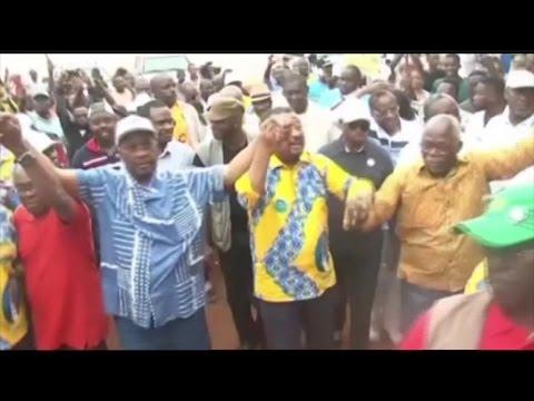 Gabon, Présidentielle 2016 : JT Campagne du 23/08/2016