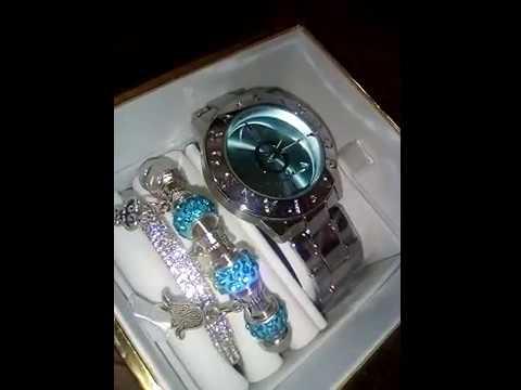 Набор пандора ( часы и браслеты)