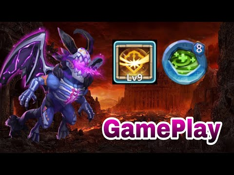 Skeletica | 9/9 Survival | Full Dodge | 8 Regerate Insingia | Raid/Dungeon | GamePlay | Castle Clash