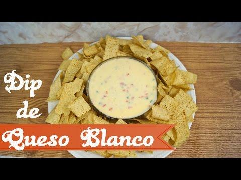 Dip de Queso Blanco - Buenísimo Para Nachos! - Mi Cocina Rápida