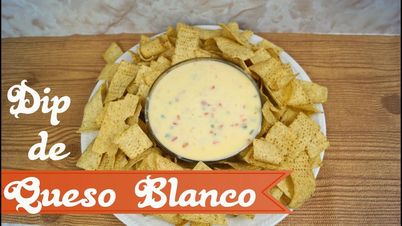 Dip de queso blanco buen simo para nachos mi cocina for Como hacer mi cocina