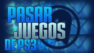 ★Pasar juegos de PS3 a Disco duro Externo o USB★