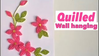 How to make Quilling flower/Quilling Design