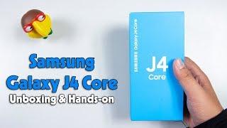 Mở hộp Samsung Galaxy J4 Core: Android Go nhưng cấu hình vẫn khá yếu