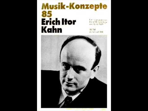 Erich Itor Kahn: Three Bagatelles (Thomas Gunther, pianist)