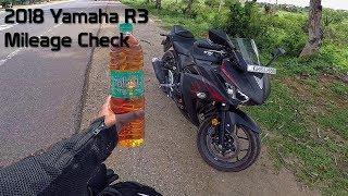 2018 Yamaha R3 Mileage Test