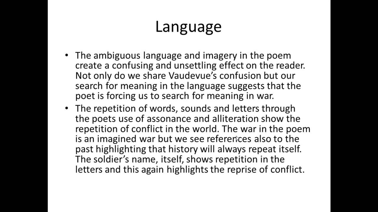 how does owen explore the pity of war in disabled Pity (noun): the feeling of sorrow and compassion caused by the sufferings and misfortunes of others wilfred owen aimed to convey 'the pity of war' in his poetry how, and to what effect, does he achieve this in 'disabled' word length: 800-1000 words you are being asked to: (i) read and .