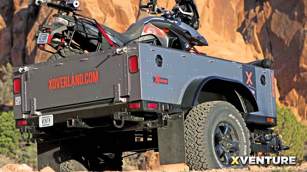 Xventure Off Road Trailer Youtube