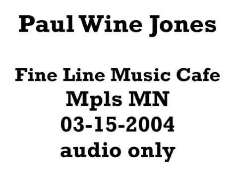 """Paul """"Wine"""" Jones 2004-03-15"""