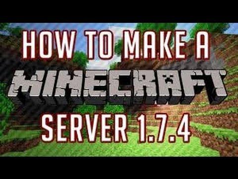 [1.7.4] How To Make A Public Minecraft Server NO HAMACHI