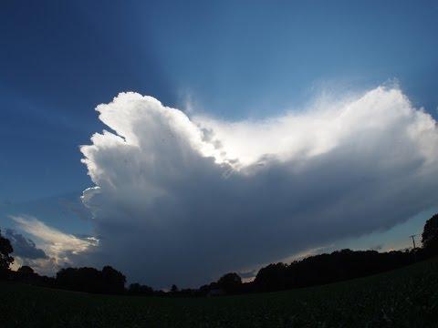 Supercell Thunderstorm Timelapse