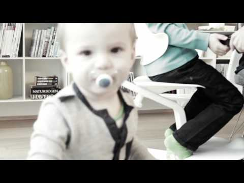 High Chair and Baby Recliner White – Nomi | Bebemoda