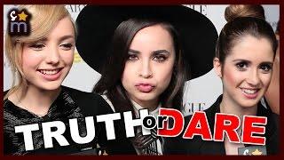 TRUTH OR DARE with Laura Marano, Peyton List, Sofia Carson & More